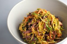 shaved brussels sprout salad 2