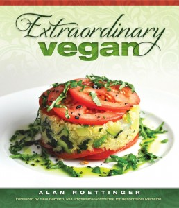 Extraordinary Vegan Front Cover