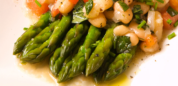 Asparagus with Cannellini from Speed Vegan