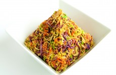shaved brussels sprout slaw 1a