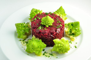 quinoa with beets and romanesco 2